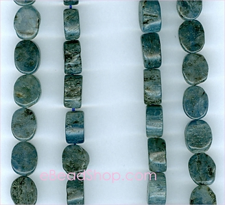 Kyanite Plain Flat Oval 5x8 mm