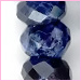 Sodalite facet round 6mm