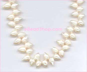 Pearl: Side Drilled Top Teardrop