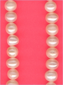 Pearl White Round 5 mm