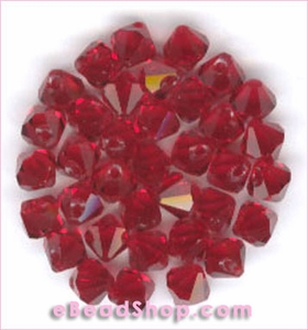 Swarovski  Beads Siam 6 mm #208