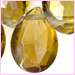 Tourmaline Faceted Hearts<br> 4 x 4 mm