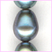 Pearl Grey Oval Pearls<br>6 x 4 mm