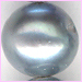 Pearl Grey Round<br>6 x 6 mm