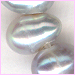 Pearl Silver Side Drilled<BR>4 x 3 mm