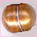 Pearl: Copper Fresh Water with Lines<br> 8-10 mm