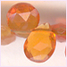 Mexican Fire Opal Faceted Briollets 6x4