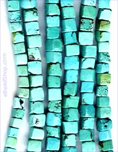 Turquoise Cubes