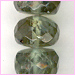 Tourmaline light Green Facetted Roundell<br>4 to 6 mm