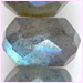 Labradorite Faceted Roundell 7- 8 mm