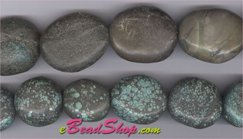 Chinese Turquoise Nuggets<br>22x28 to 30x36 mm