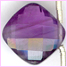 Amethyst Top Drilled Pillow