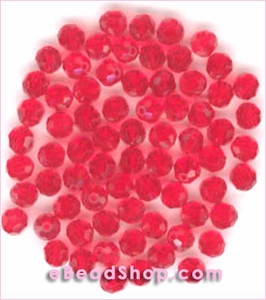 Swarovski  Beads Light Siam 4 mm  #227