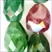 Tourmaline Faceted Nuggets<br>6x12 mm
