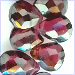 Garnet facet hearts