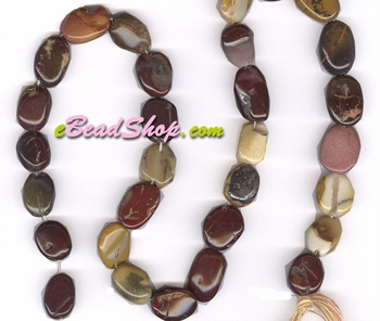 Mookite Oval Mixed Shade Multi Color<br>8 x 10 mm