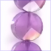 Amethyst Faceted Coins Beads