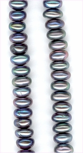Pearl Grey Roundelle<br>5 - 6 mm