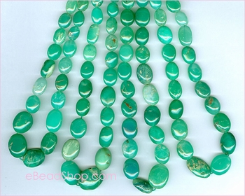 Chrysoprase Oval 8 to 10 mm