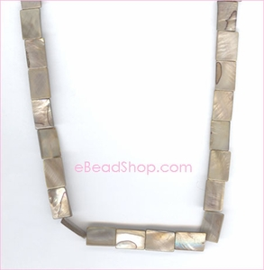 Mother of Pearls<br>Rectangular Champagne