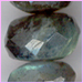Labradorite Faceted Roundell 12- 16 mm