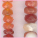 Mexican Fire Opal Faceted Roundel<br>4 to 5 mm $45