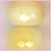 Tanzania Yellow Opal Faceted Roundel<br>9 to 11 mm $95