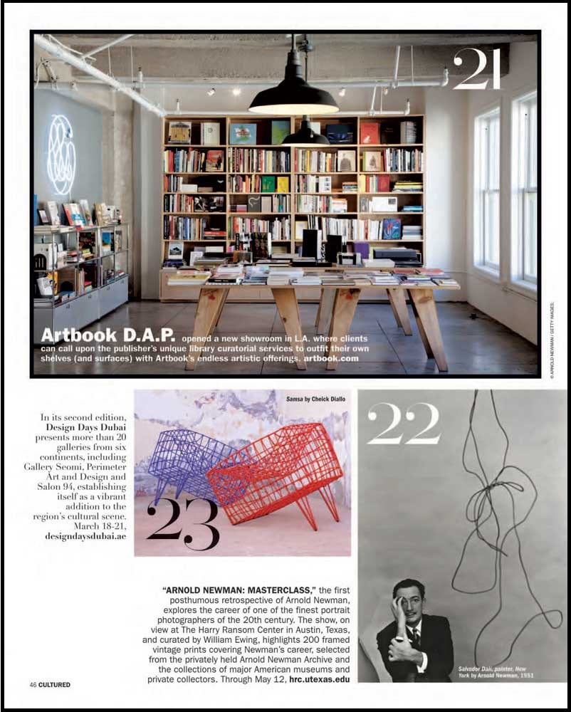 "Caption reads: ""ARTBOOK 