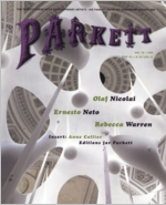 Parkett No. 78 Ernesto Neto, Olaf Nicolai, Rebecca Warren