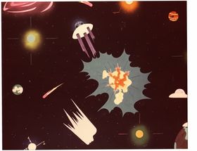 Featured image is reproduced from <I>Sun Ra & Ay� Aton: Space, Interiors and Exteriors 1972</I>.