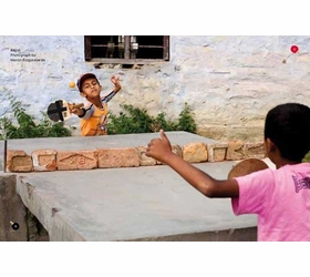 Featured image, Marcin Rozpedowski's photograph of children playing ping pong in Nepal, is reproduced from <I>Ping Pong</I>.