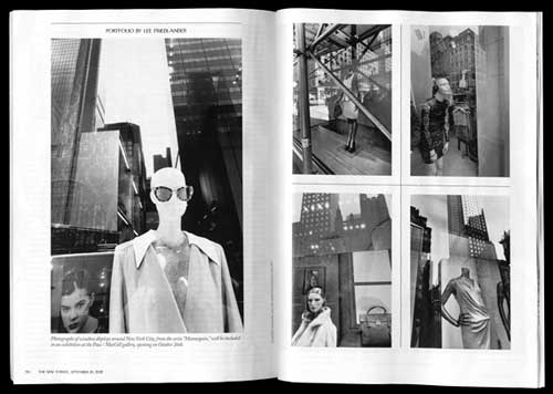 Lee Friedlander: Mannequin Featured in The New Yorker