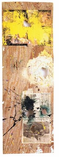 "Featured image, ""The Curse of Bast"" (1987), is reproduced from <I>The Art of William S. Burroughs: Cut-ups, Cut-ins, Cut-outs</I>."