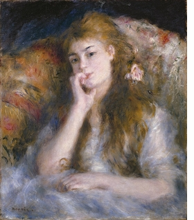 Featured image is reproduced from <I>Renoir: Between Bohemia and Bourgeoisie</I>.