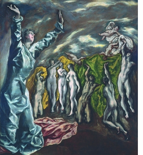 Featured image is reproduced from <I>El Greco and Modernism</I>.