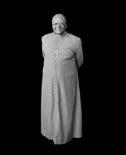 "Featured image�of Archbishop Desmond Tutu, the veteran anti-apartheid activist and peace campaigner often described as ""South Africa�s moral conscience""�is reproduced from Justice, best-selling photographer Mariana Cook"