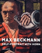 Max Beckmann: Self-Portrait with Horn
