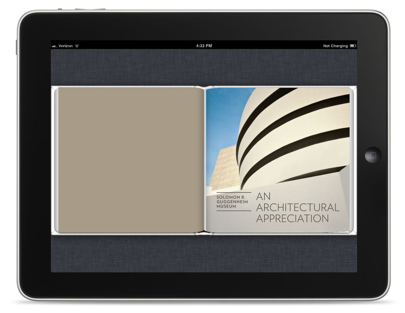 Solomon R. Guggenheim Museum: An Architectural Appreciation Guggenheim Museum Available for iPad.  In 1943, Frank Lloyd Wright received a letter from Hilla Rebay, the art advisor to Solomon R. Guggenheim, asking the architect to design a new building to house Guggenheim
