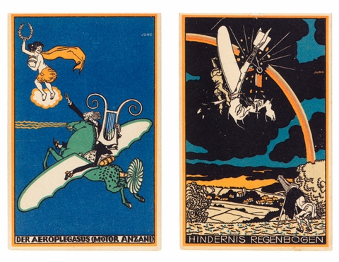 Postcards of the Wiener Werkst�tte: At First Sight
