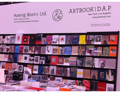 ARTBOOK & Koenig Books at FRIEZE NY
