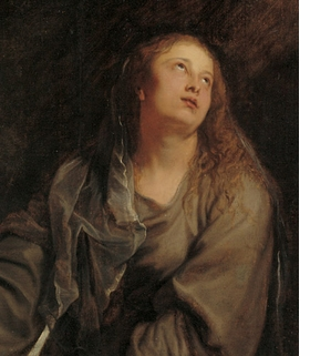 "Featured image is a detail of Van Dyck's ""Saint Rosalia Interceding for Palermo,"" c. 1624�25."