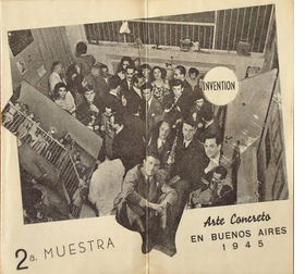 Featured image, an event program for <I>Arte Concreto, 2� Muestra [Concrete Art, 2nd exhibition]</I> in Buenos Aires, 1945, is reproduced from <I>Gyula Kosice in Conversation with Gabriel Perez-Barreiro</I>.