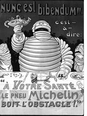 "Featured image, ""Bibendum Michelin,"" is reproduced from the Introduction to <I>Liberty or Love! and Mourning for Mourning</I>."