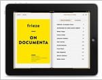 Frieze on Documenta eBook