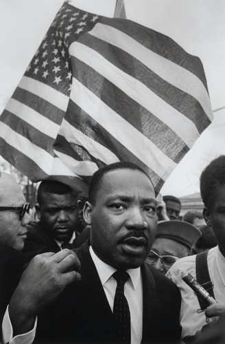 "Featured image, ""The Killing of Martin Luther King, Jr. Triptych, Memphis, Tennessee, 1968,"" is reproduced from ""Steve Schapiro: Then and Now,"" distributed for Hatje Cantz by ARTBOOK 