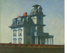 "Featured image, ""House by the Railroad"" (1925), by Edward Hopper, is reproduced from <I>American Modern: Hopper to O'Keefe</I>."