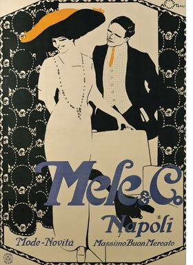 Featured image is reproduced from <I>Posters: Advertising and Italian Fashion, 1890-1950</I>.
