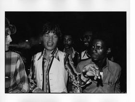 "Featured image, a photograph of Mick Jagger at a 1974 Stevie Wonder party by James Hamilton, is reproduced from <a href=""9781616234959.html"">You Should Have Heard Just What I Seen</a>."