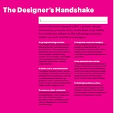 The Designer's Handshake