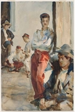 'John Singer Sargent Watercolors' Opens at Brooklyn Museum